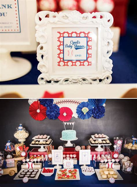 Baseball Baby Shower Ideas by Baseball Baby Shower Hostess With The Mostess 174