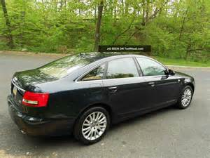 2007 A6 Audi 2007 Audi A6 3 2 Quattro Showroom Condition