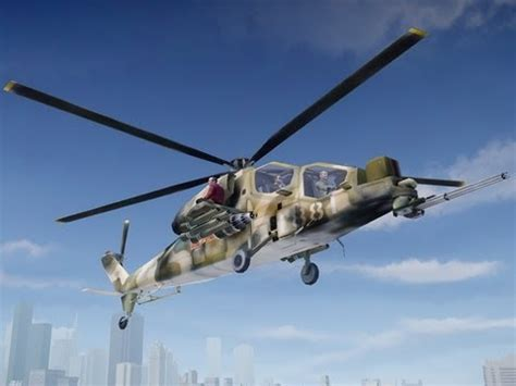 gta 4 wz 10 attack helicopter (battlefield 2) youtube