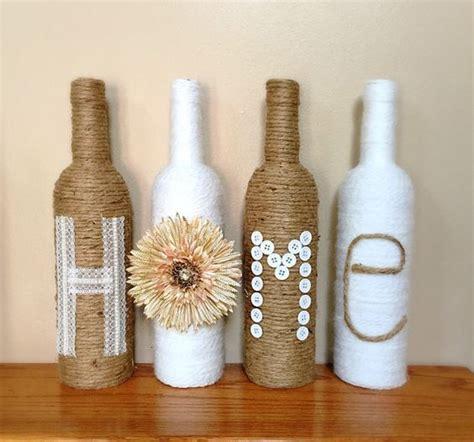 decoracion de botellas de vidrio vacias ideas para decorar con botellas de vidrio by artesydisenos