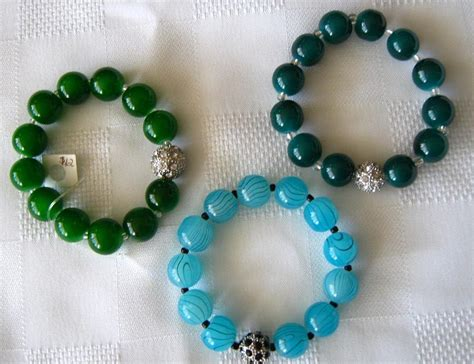 How To Make Handcrafted Jewelry - handmade bracelets with rhinestone jewelry by fatima pardhan