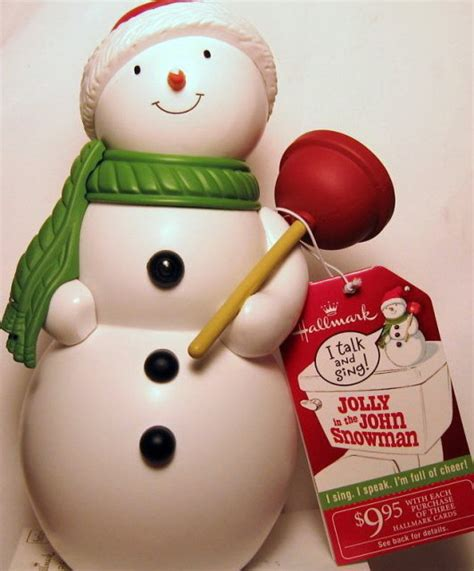 hallmark bathroom snowman antiques art vintage
