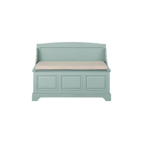 home decorators bench home decorators collection walker white storage bench 7400600410 the home depot
