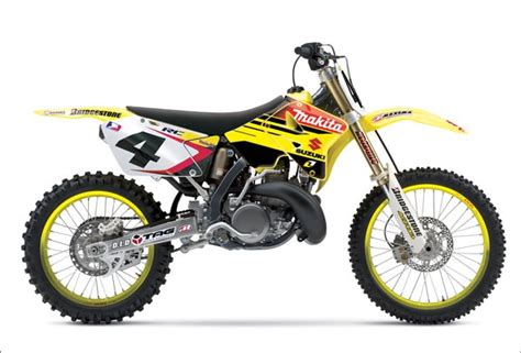 Suzuki Motorcross 2006 Suzuki Motocross Line Up Revealed 171 Motorcycledaily