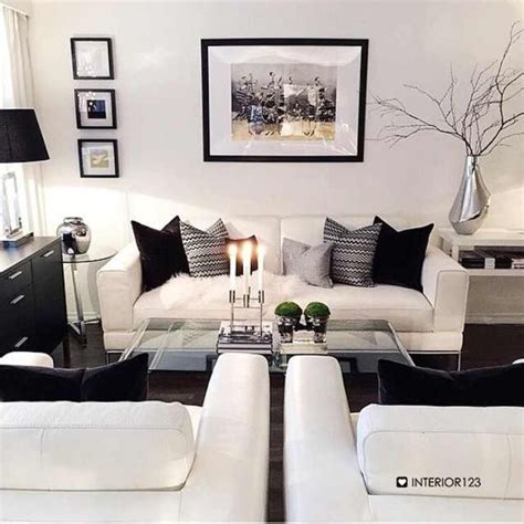 Black And White Decorating Ideas For Living Rooms by Living Room Best Black And White Living Room Design Black
