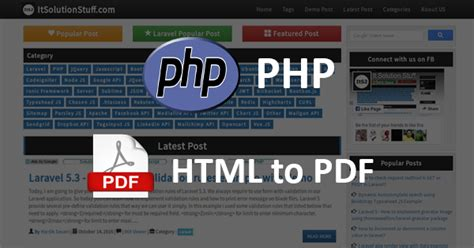 convert html to pdf in php with dompdf codexworld php how to convert html file to pdf using dompdf library
