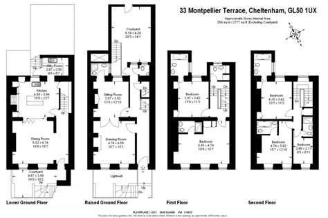 4 Bed 4 Bath Floor Plans Montpellier House Luxury Serviced Apartments