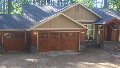 Garage Door 16x8 by Value Garage Door Service Battle Ground Wa 98604