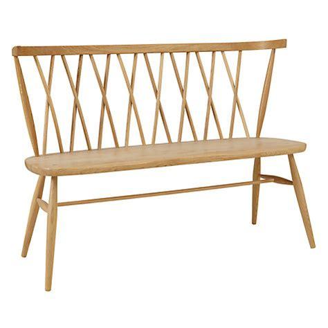 john lewis bench buy ercol for john lewis chiltern 3 seater dining bench