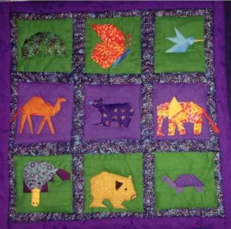 Patchwork Animal Patterns - patchwork