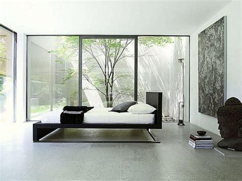 bett minimalistisch minimalistische schlafzimmer ideen betten aus teakholz