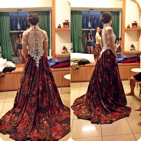 batik dress design in bd batik wedding dress by gladicious bridestory com