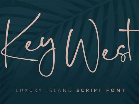 key west script font  noi minggu  dribbble