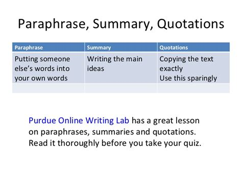sle essay for summarizing paraphrasing and quoting paraphrase summary quotations