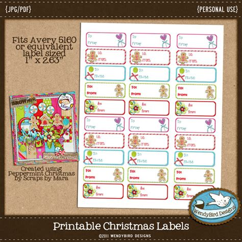 avery 5160 christmas labels template search results