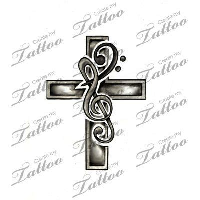 cross and music note tattoo 29 best cross note images on