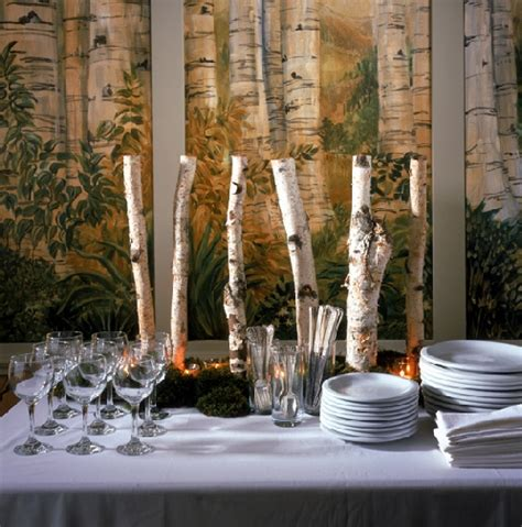 birchwood centerpiece