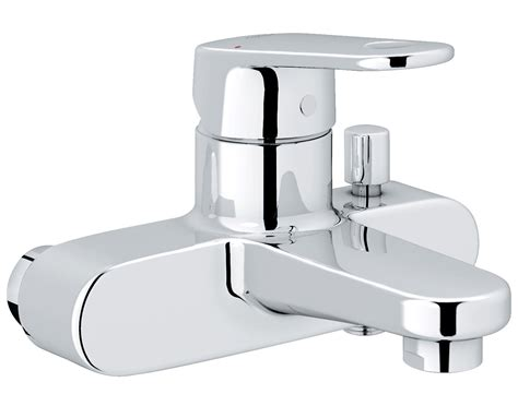 grohe bath shower mixer grohe europlus single lever bath shower mixer tap chrome
