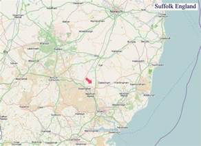 Suffolk England Map by Map Of Suffolk Pictures To Pin On Pinterest Pinsdaddy