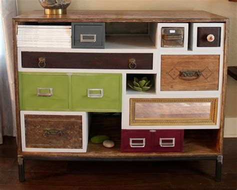 How To Build A Dresser Drawer by How To Reuse Drawers Refurbished Ideas