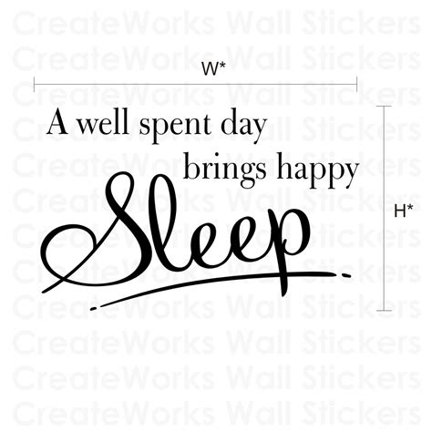 How To Decorate Home For Halloween by Happy Sleep Bedroom Wall Quote Sticker Wa260x