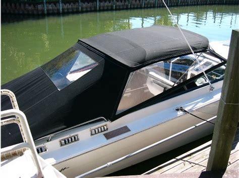speed boat bimini top bimini top on cigarette boats offshoreonly