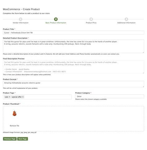 woocommerce customize receipt email template new woocommerce product form template formidable forms