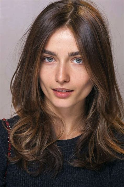 hair with slight waves french hair medium length easy slight wave layers