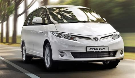 Toyota Previa 2015 Toyota Previa 2015 Reviews Prices Ratings With Various
