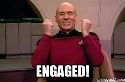 Engagement Meme - engaged