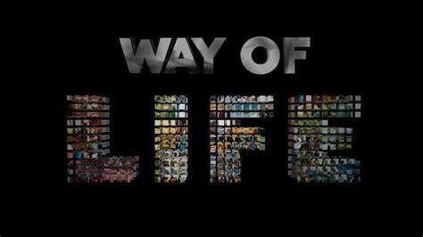 the ways of the way of life tgr