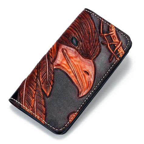 Handmade Biker Wallets - handmade mens biker wallet designer wallets with american