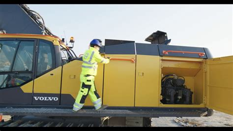 volvo ece crawler excavator   youtube