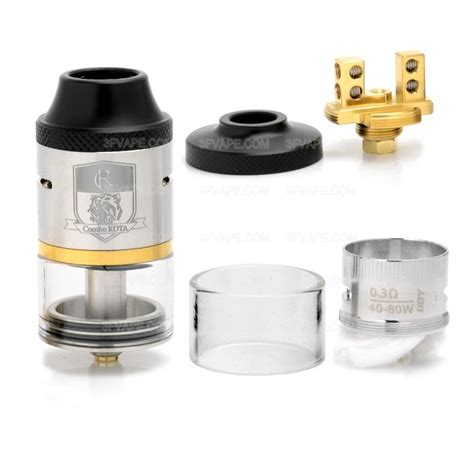 Atomizer Tank Vape Rdta Ijoy Combo Best Clone 11 authentic ijoy combo rdta silver 6 5ml rebuildable atomizer