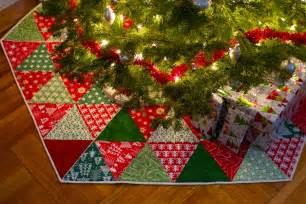 quilted christmas tree skirt tutorials i want to try