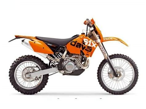 Ktm Exc 450 2005 Ktm 450 Exc Racing Specs 2005 2006 2007 2008 2009