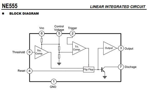 555 integrated circuit datasheet ne555 datasheet pdf unisonic technologies