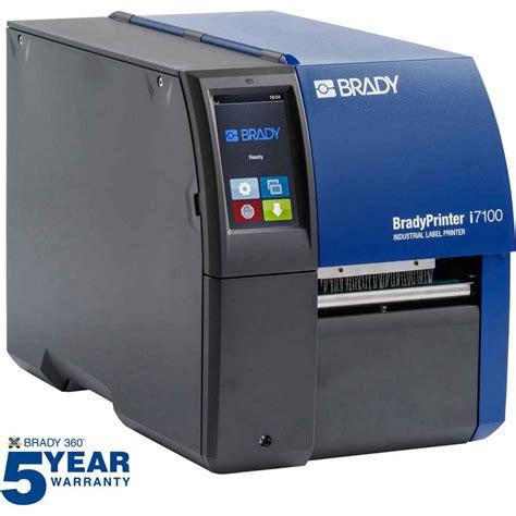 Brady Label Printer brady part 149050 bradyprinter i7100 300dpi industrial