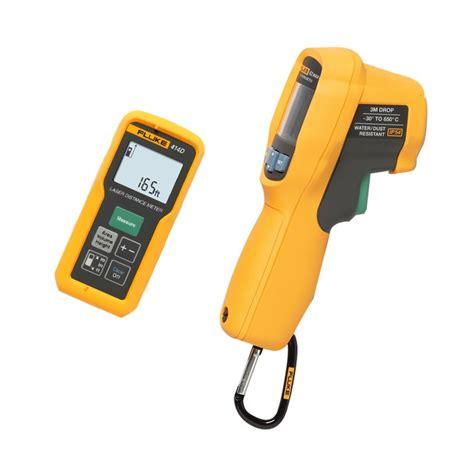 Fluke 414d Espr Laser Distance Meter fluke 414d laser distance meter 62 max thermometer kit