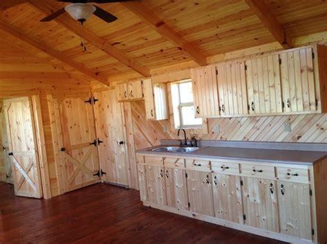 14x40 Whitetail Modular Cabin   Craftsman   Kitchen