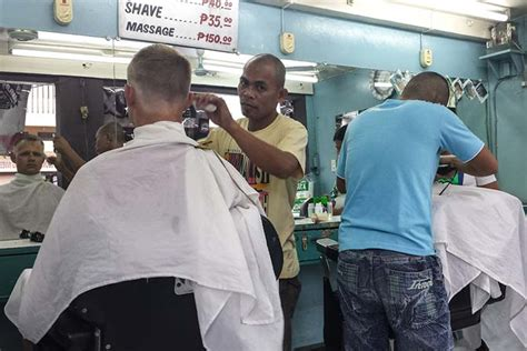barbers cut style philippines filipino barbers cut images pastel hair color for men