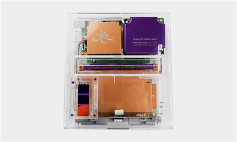 colored gaming colored gaming clear snes cool material