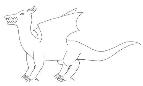 dragon full body template by shadowolf0913 on deviantart