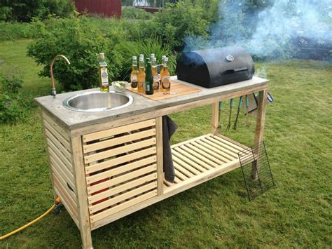 portable outdoor kitchen island how to make outdoor portable kitchen diy crafts
