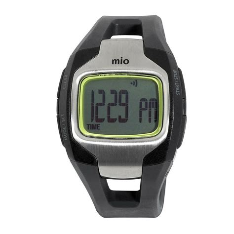 mio ebay mio sport max ekg rate calorie burn monitor w build in pedometer ebay