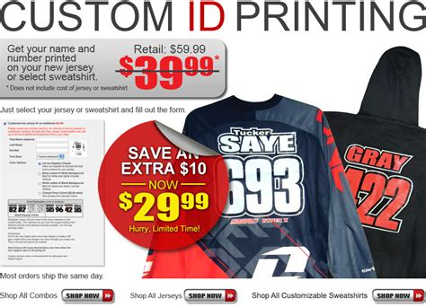 custom motocross jersey printing dirt bike motocross custom jerseys motosport