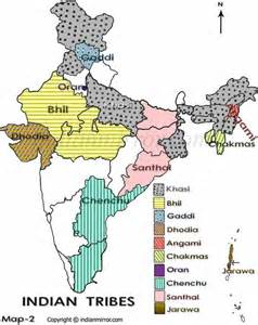 map of indian tribes in tribes in india ancient tribes of india indian tribes