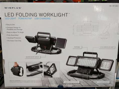 led work light costco winplus led folding worklight