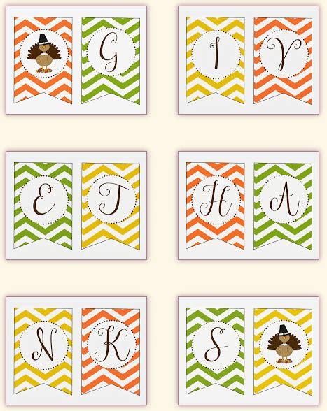 printable free thanksgiving banner 30 free thanksgiving printables thesuburbanmom