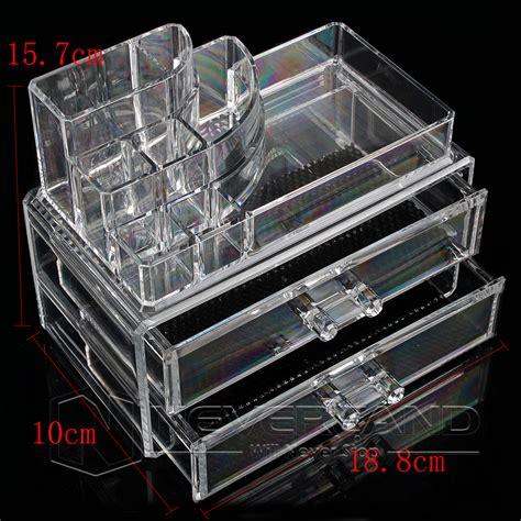 Acrylic Box Makeup makeup box cosmetic organizer drawer jewelry holder